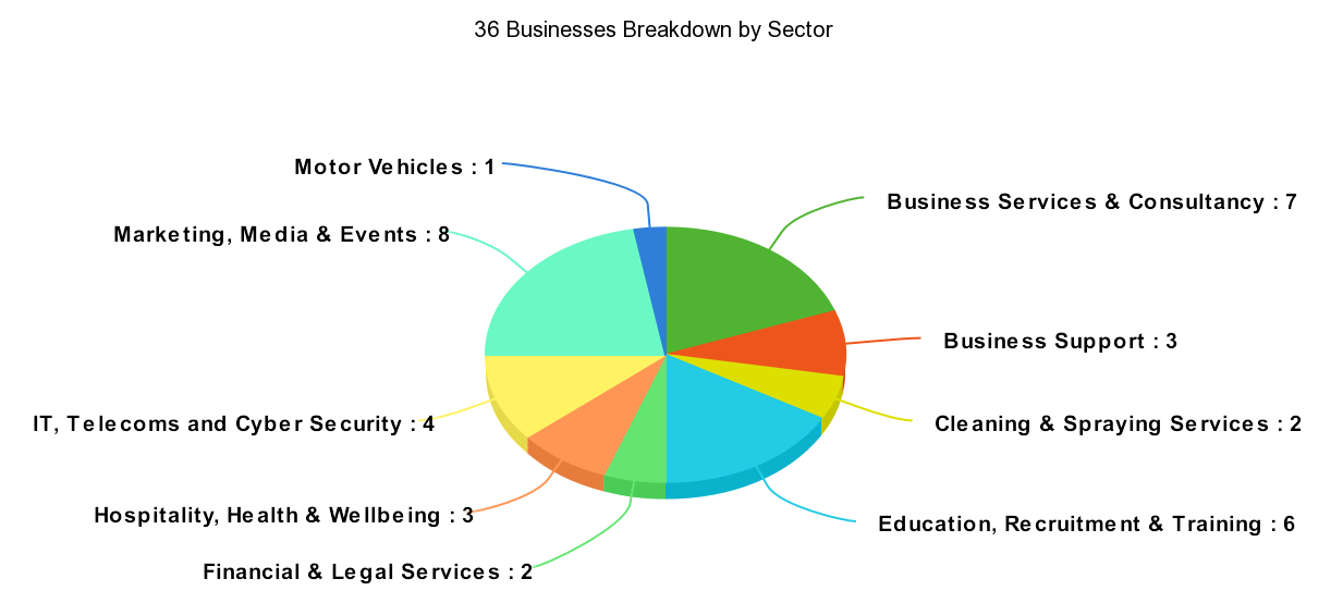 Visitor profile by sector